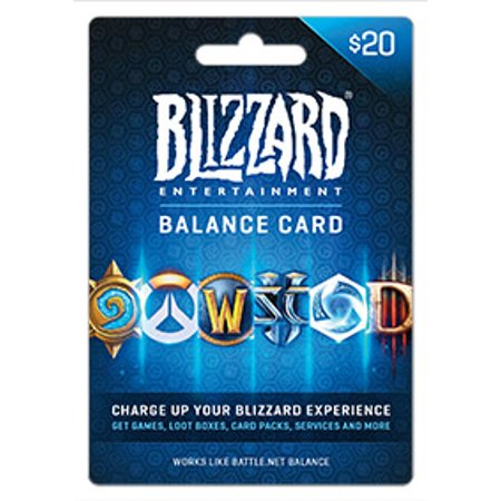 Battle.net Balance Store Gift Card $20, Blizzard Entertainment [Digital - Blizzard Bash