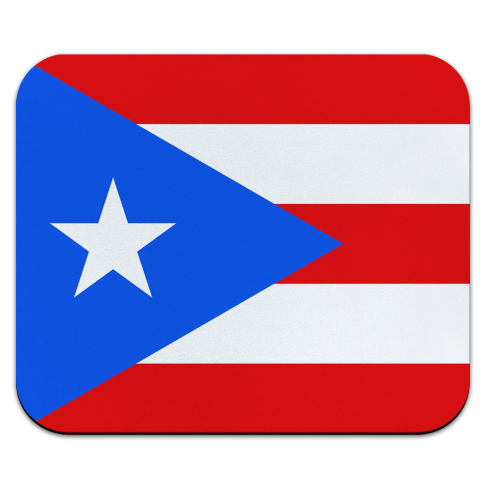 Puerto Rico National Flag Mouse Pad