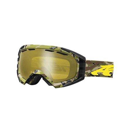 Arnette Mercenary Snow Goggles AN5002 - Camo Yellow w/ Honey Chrome (Arnette Store)
