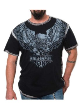 acce08aac4644 Product Image Harley-Davidson Men s Upswept Eagle Premium Short Sleeve Tee