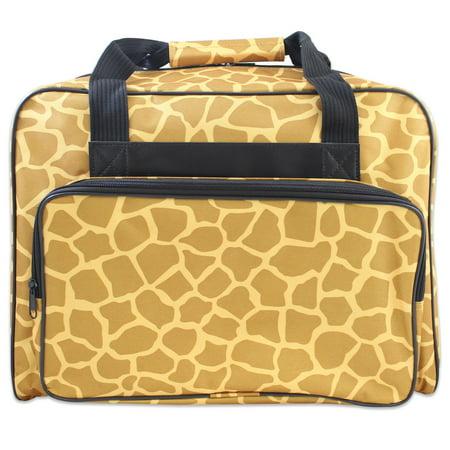Janome Sewing Machine Tote Bag in Giraffe Pattern - Walmart.com