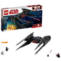 LEGO Star Wars Episode VIII Kylo Ren's Tie Fighter 630 Piece Building Kit