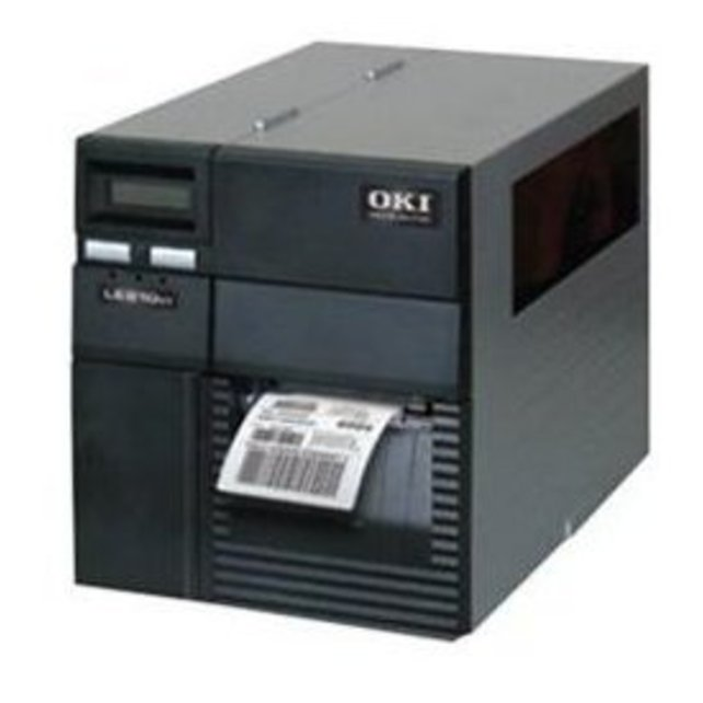 Oki Data 92304105 LE810DT Monochrome Direct Thermal Printer - (Refurbished)