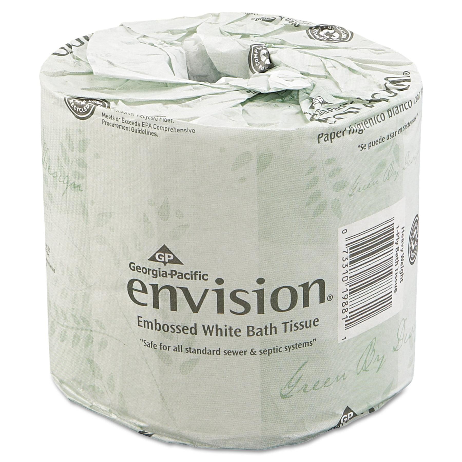 Georgia Pacific Envision Bathroom Tissue, 550 sheets, 80 ct