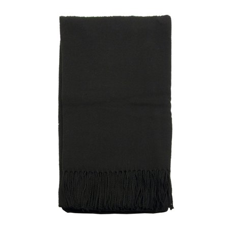 Black Throw Blanket (Comfortable Loft Woven Throw Couch Blanket 50