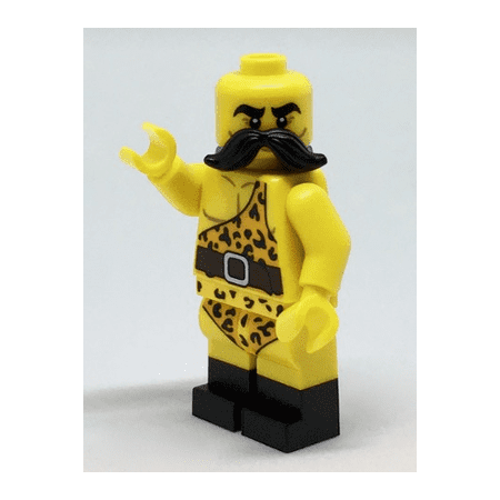 LEGO Collectible Series 17 Circus Strong Man Minifigure - Minifig Only Entry