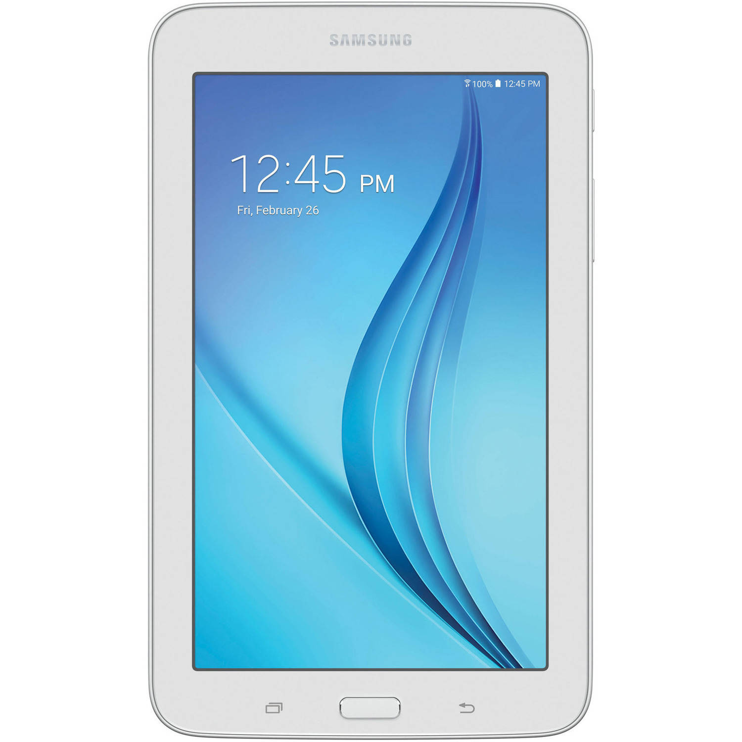 "Refurbished Samsung Galaxy Tab E Lite with WiFi 7"" Touchscreen Tablet PC Featuring Android 4.4 (KitKat) Operating System"
