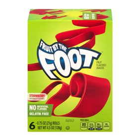 Snacks cookies chips walmart order online 3 pack betty crocker fruit by the foot fruit snacks strawberry negle Images