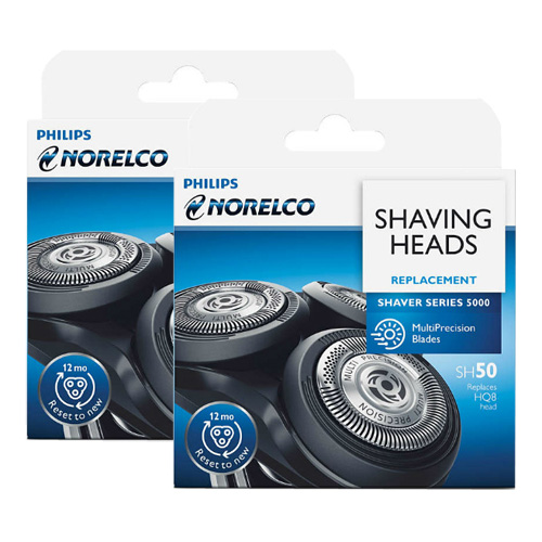Norelco SH50/52 (2 Pack) Shaver Replacement Heads