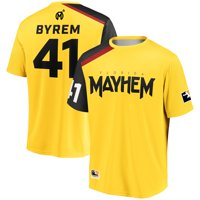 byrem Florida Mayhem Overwatch League Home Team Jersey - Yellow