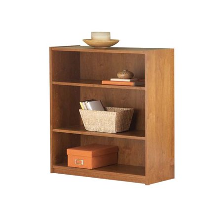 Mainstays 3 Sh Bookcase In Alder Color Walmart Com