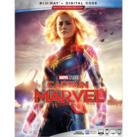 Captain Marvel (Blu-ray + Digital) - 1990 Captain America Movie