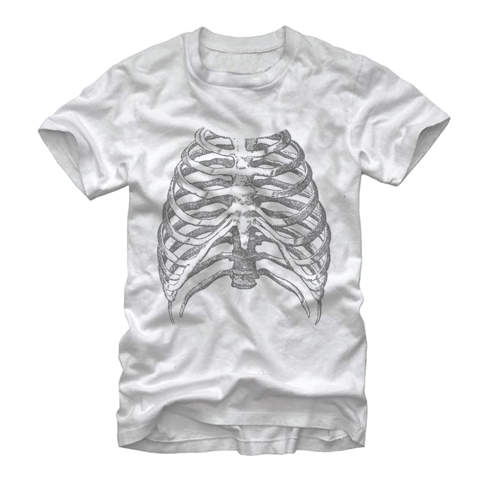 Lost Gods Rib Cage Mens Graphic T Shirt