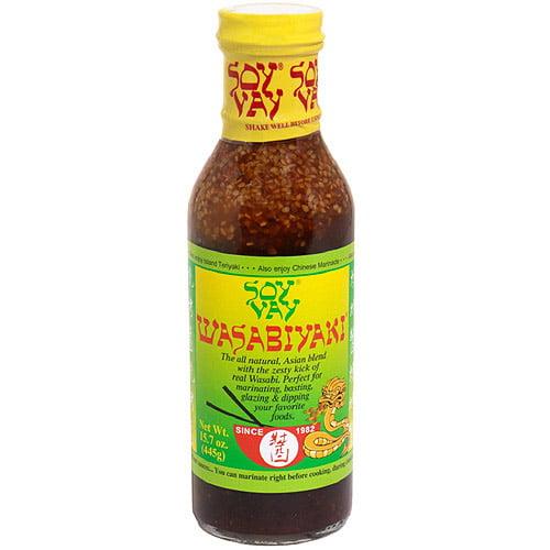 Soy Vay Wasabi Teriyaki Sauce, 15.7 oz  (Pack of 6)