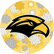 Southern Mississippi Golden Eagles NCAA Collegiate Trendy Floral Flower Fashion Pattern 4