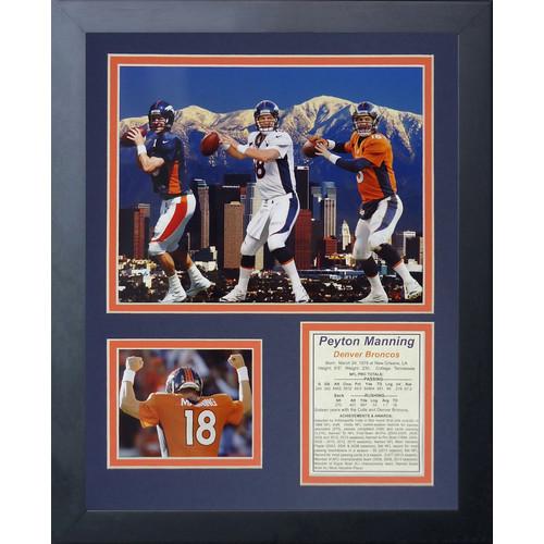 Legends Never Die Denver Broncos Peyton Manning Framed Memorabili