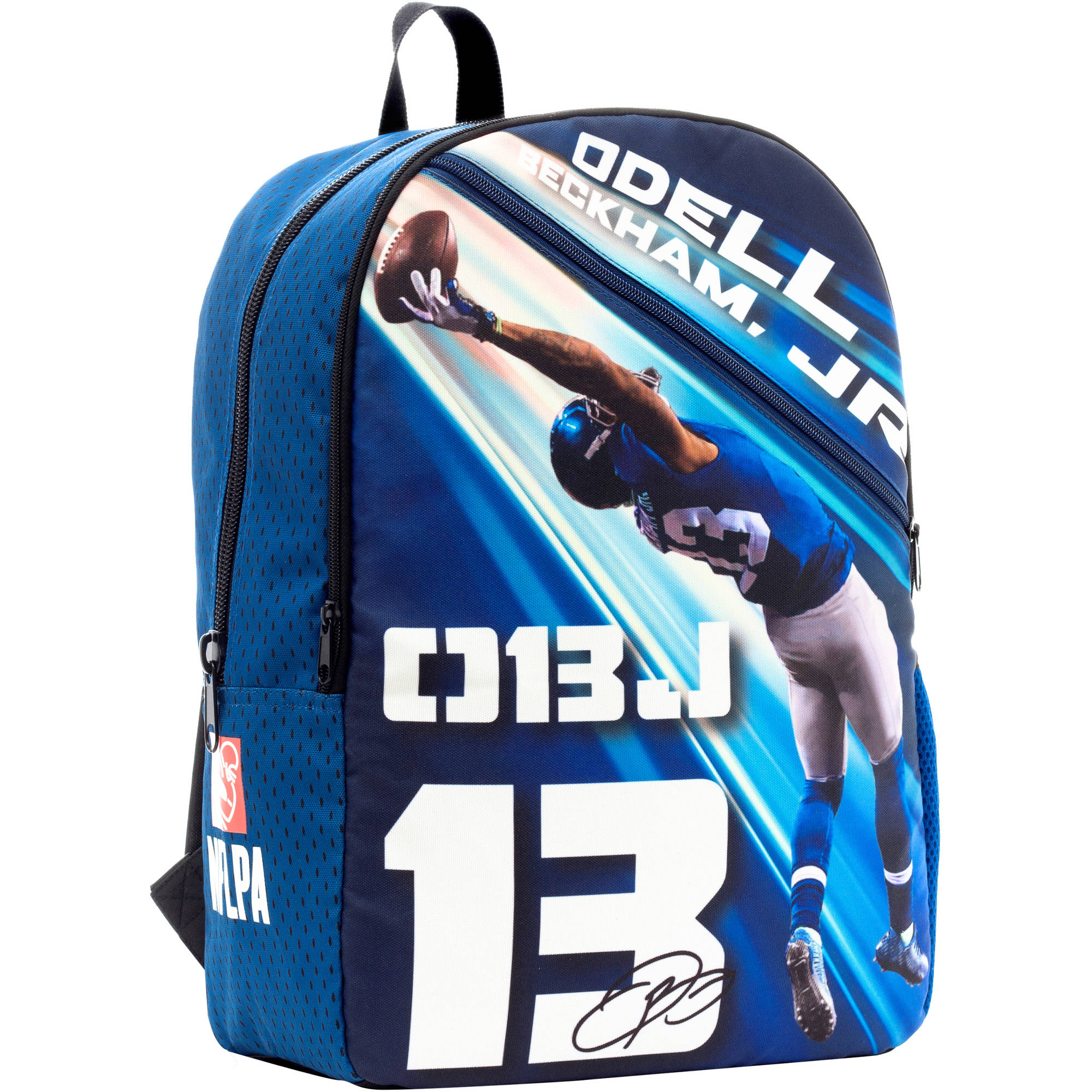 NFLPA Photo Play Odell Beckham Junior #13 Backpack - Walmart.com