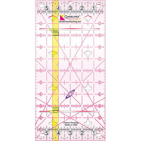 Guidelines Quilting Ruler, 6