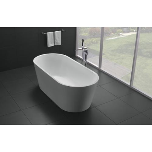 Genial ... Eviva Alexa 60 Inch White Free Standing Strengthen Acrylic Bathtub