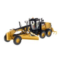 """CAT Caterpillar 12M3 Motor Grader with Operator """"High Line Series"""" 1/50 Diecast Model by Diecast Masters"""