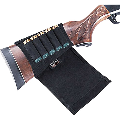 Uncle Mikes Kodra Shotgun Buttstock Shell Holder with Flap