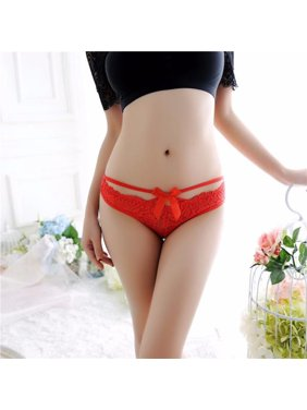 bac71145994f Product Image Women Sexy Lace Briefs Panties Thongs G-string Lingerie  Underwear BK