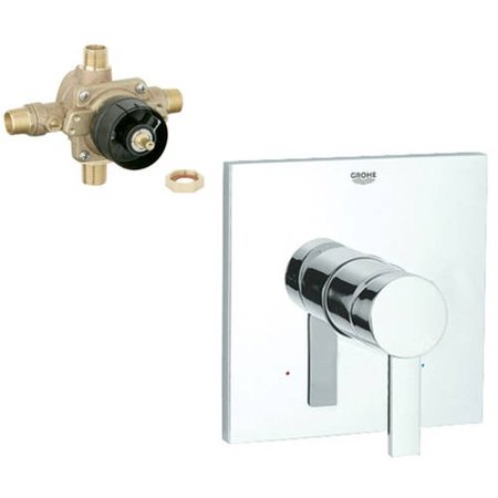 Grohe K19375-35015R-000 Allure Tub and Shower Valve Kit, Chrome Grohe Tub Shower