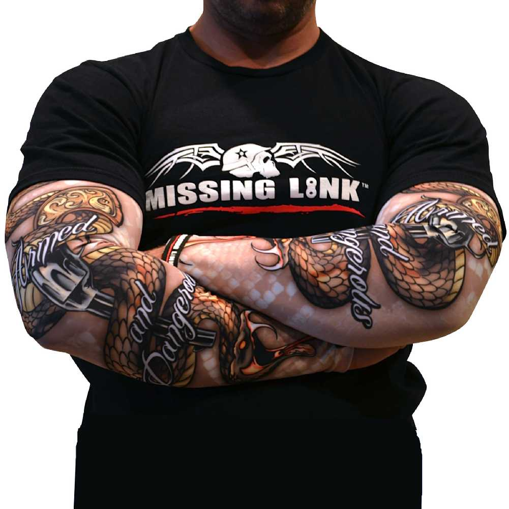 Missing Link SPF 50 Armed and Dangerous ArmPro Compression Sleeves - APAD
