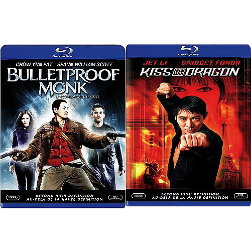 Kiss of the Dragon/Bulletproof Monk [2 Discs] [Blu-ray] (Widescreen)