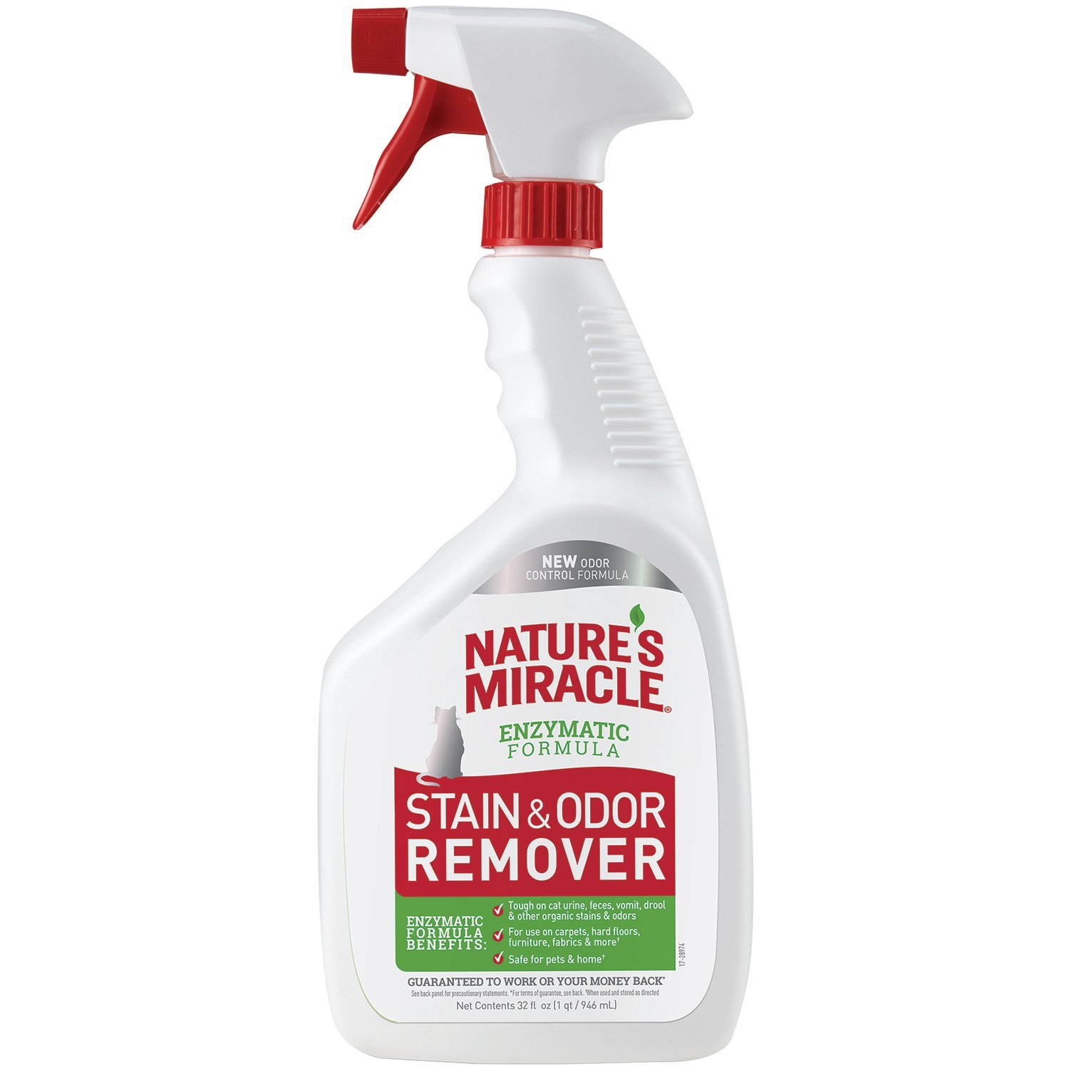 Nature's Miracle Just for Cats Stain & Odor Spray, 32 oz