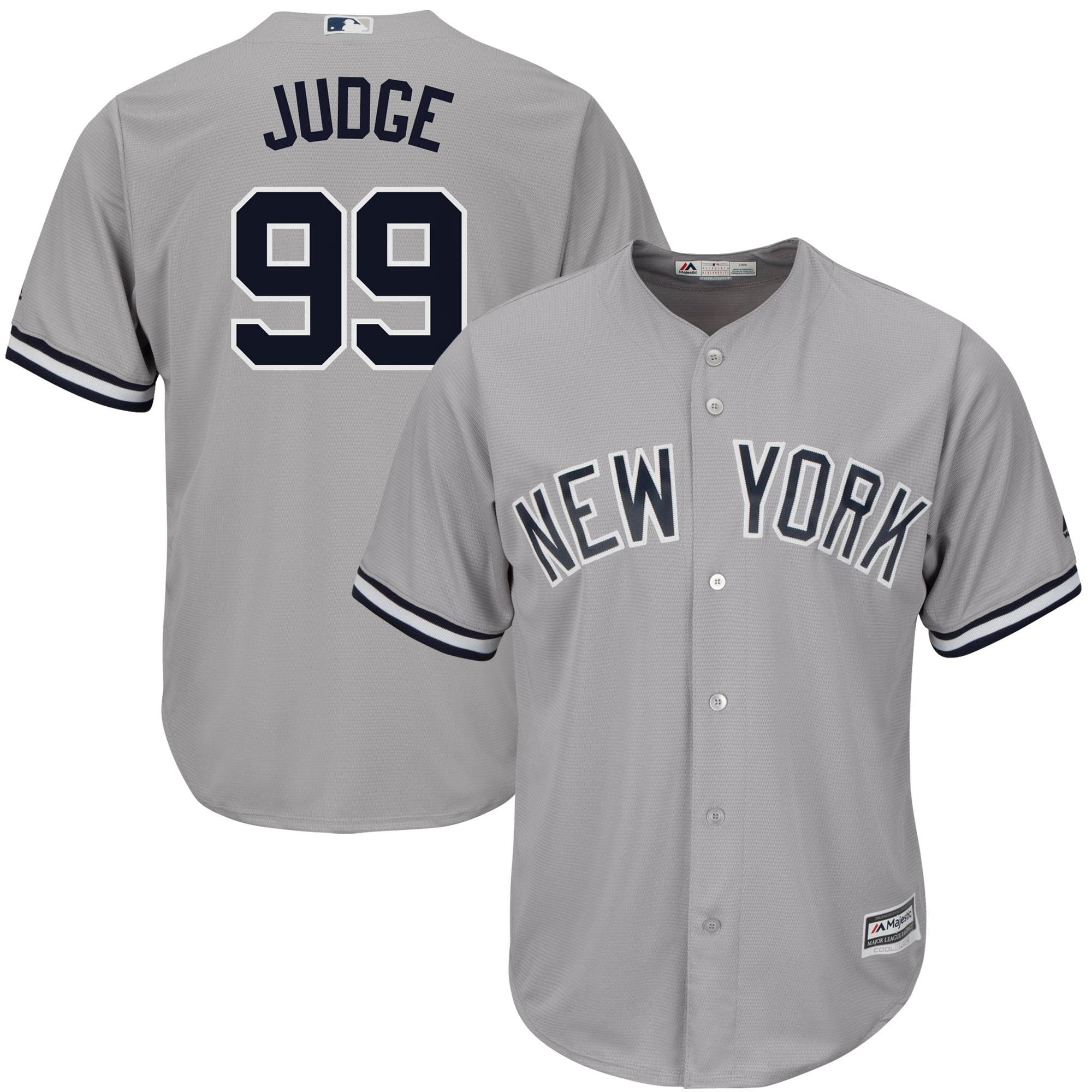 Aaron Judge New York Yankees Majestic Road Cool Base Replica Player Jersey - Gray