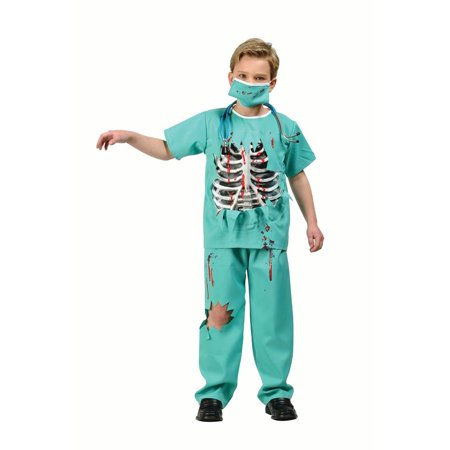 Scary E.R. Doctor Child - Scary Cheap Costumes