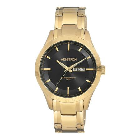 Mens Dress Gold Bracelet Round