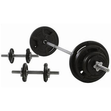 Weider 160 Lb Spinlock Weight Set