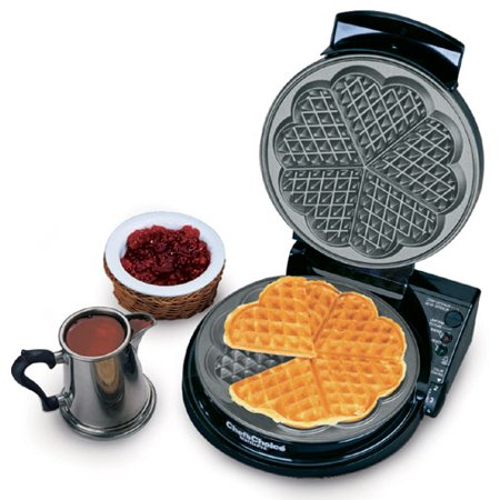 Chefs Choice 830 WafflePro Five-of-Hearts Waffle Maker