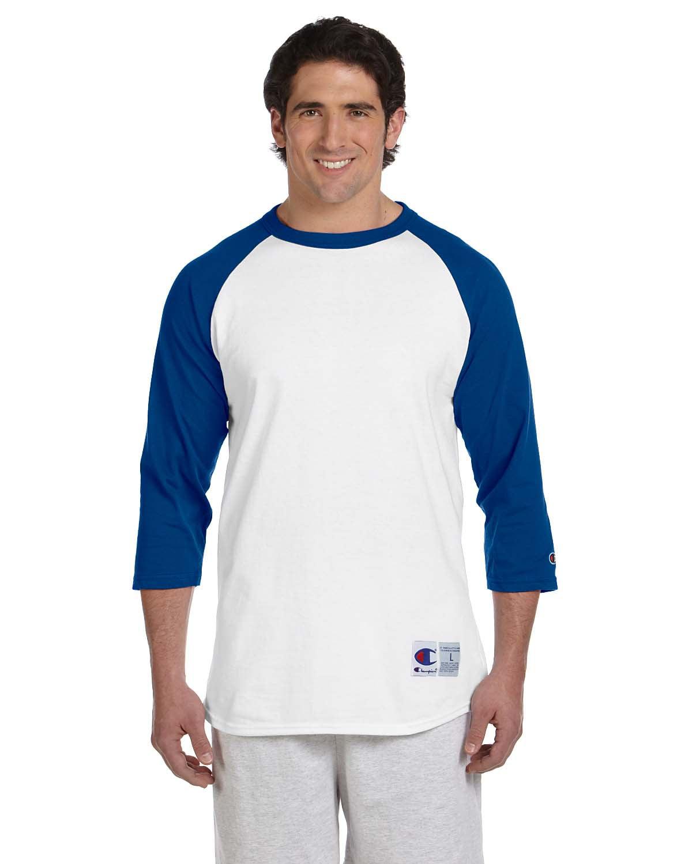 178c58baef Men S Raglan Baseball T Shirt White Maroon 2xl