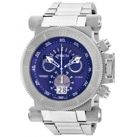 Invicta 17640 Men's Coalition Forces Blue Dial Steel Bracelet Chronograph  Watch