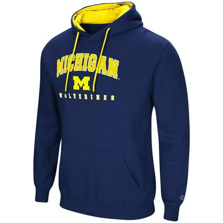 - University of Michigan Wolverines Men's Hoodie Pullover Hooded Sweatshirt
