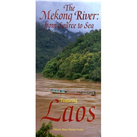 The Mekong River: From Source to Sea Featuring Laos (Map)