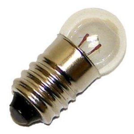 OCSParts 134 Miniature Light Bulb, 6.3 Volts, 0.25 Amps - 10 Pack