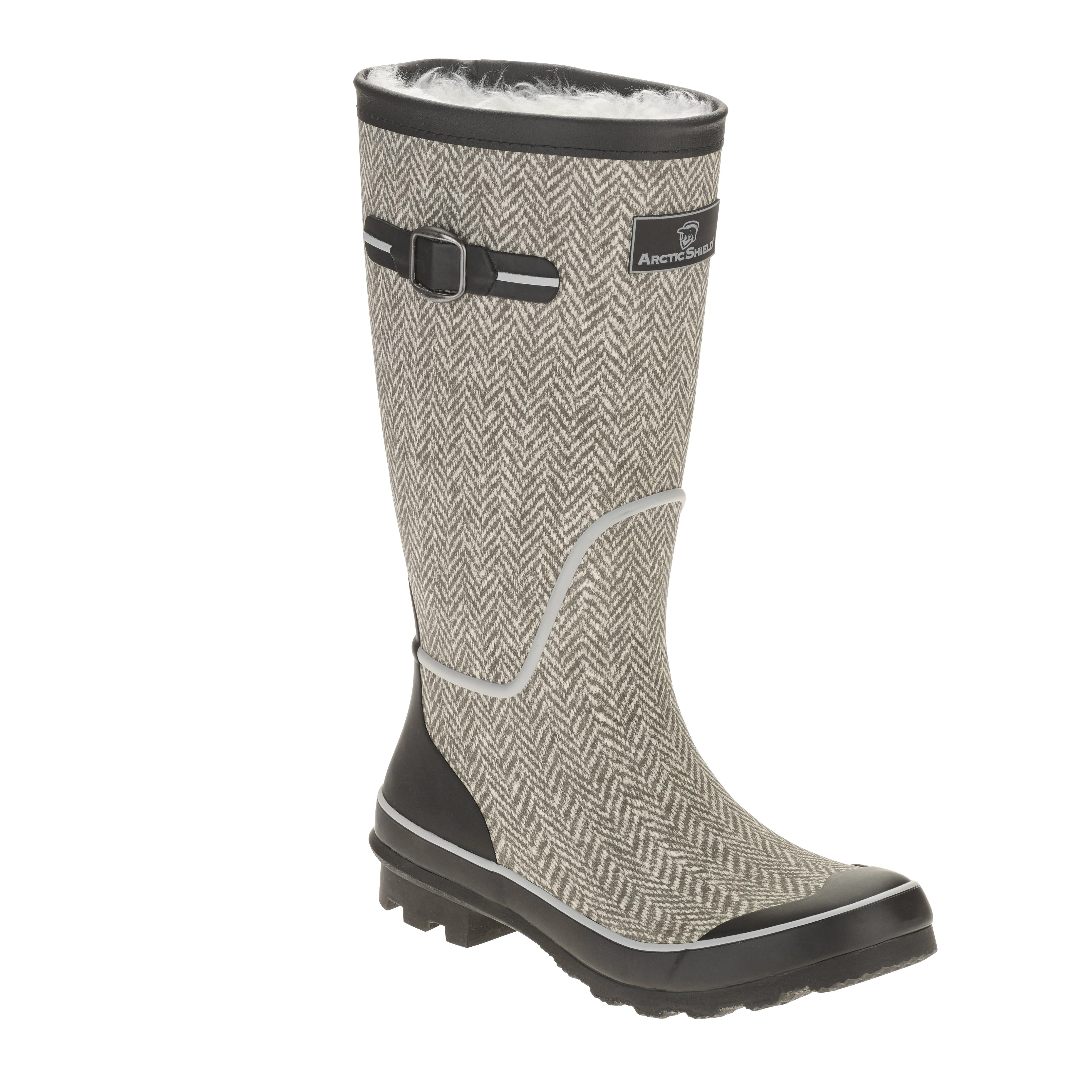 arctic shield s rubber winter boot walmart