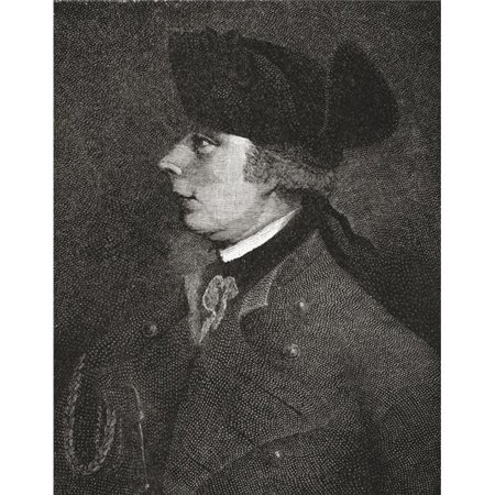 Major General James Wolfe, 1727 to 1759 British Army Officer From The Book Short History of The English People by J.R. Green Published London 1893 Poster Print, 24 x 32 - Large - image 1 de 1