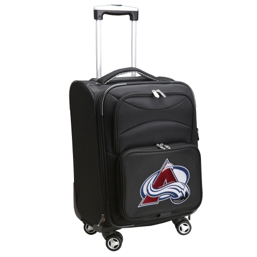 """Colorado Avalanche 21"""" Spinner Carry-On - Black - No Size"""