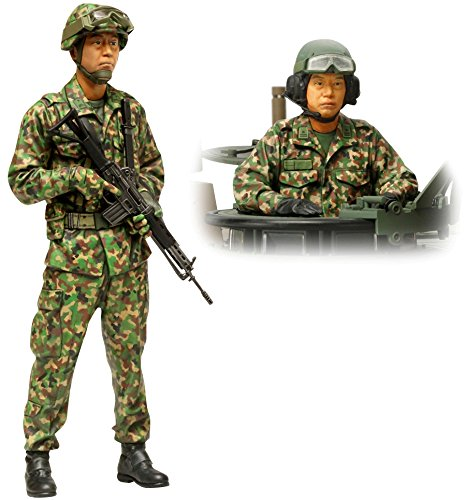 1/16 World Figure Series No.16 Ground Self-Defense Force tanks crew set 36 316