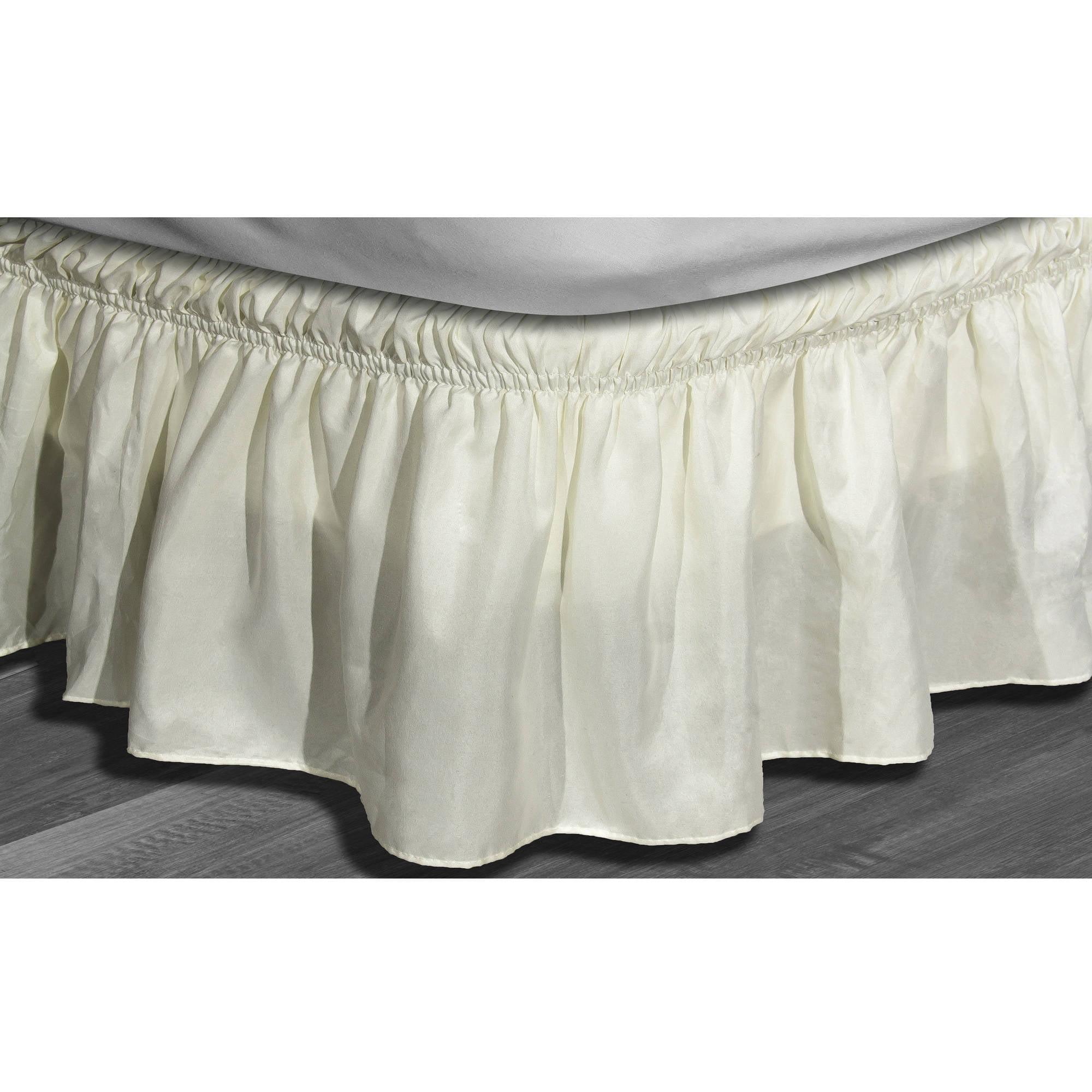 Waldorf Microfiber Bed Ruffle Skirt