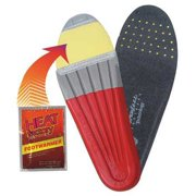 HEAT FACTORY 1410-SM Orthotic Heated Footbed,M 6-7,W 5-6,PR