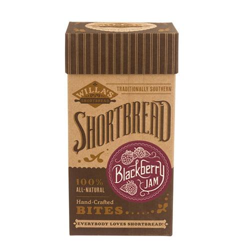 Blackberry Jam Shortbread Bites by Willa's Shortbread (4 ounce)