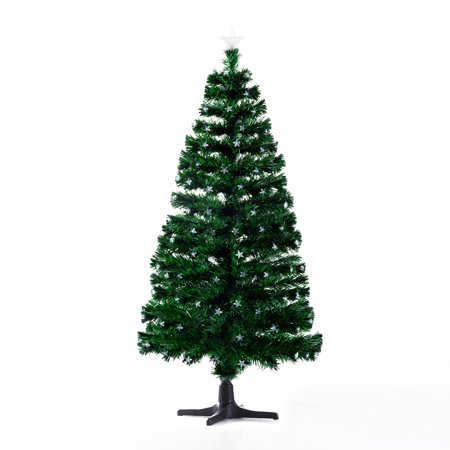 pre lit led stars artificial rotating christmas tree with stand