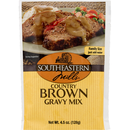 Southeastern Mills Country Brown Gravy Mix -4.5 oz. Packets (3 Packets)