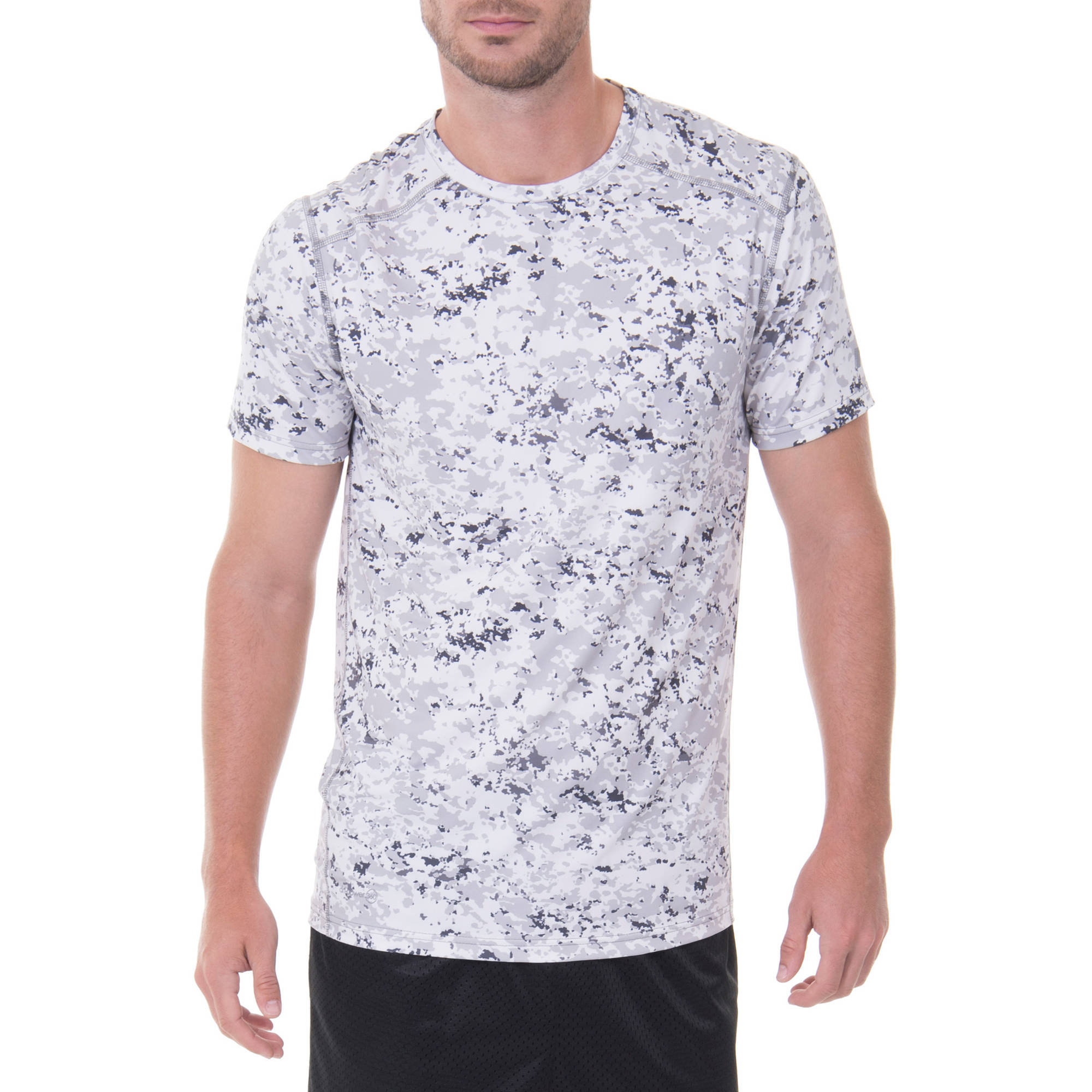 Russell Men's Performance Mineral Wash Printed Crew Tee